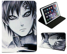 Per Apple iPad Mini 1 2 3 4 Naruto Kakashi Gaara ANIME Custodia Supporto Folio