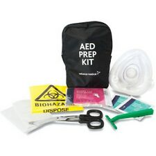 AED PREP KIT - IDEAL FOR USE WITH A DEFIB - RESUSCITATION - CPR - MOUTH TO MOUTH