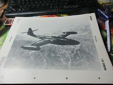 Militaria - 1950 War Plane/Jet Officil ID Sheet OPNAV 32P-1200 -  F-89 Scorpion