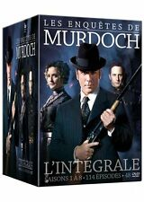 COFFRET DVD INTEGRALE LES ENQUETES DE MURDOCH SAISON 1 A 8 NEUF