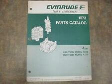 EVINRUDE, 1973 Parts Catalog - LIGHTWIN, YACHTWIN 4 HP