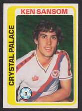 Topps - Footballers (Blue Back) 1979 - # 274 Ken Sanson - Crystal Palace