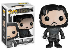 "DAMAGED BOX - GAME OF THRONES CASTLE BLACK JON SNOW 3.75"" VINYL FIGURE POP"