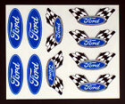 Blue Oval Detail Decals for RC Cars, Late Models, Stock Cars, Dirt Oval, Ford