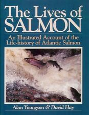 YOUNGSON FLYFISHING BOOK LIVES OF SALMON NEW