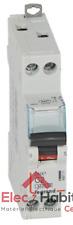 Disjoncteur unipolaire+neutre DNX3 2A Vis/Vis Legrand 406771