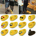 3D Cartoon Emoji/Minions Plush Soft Slippers Toy Winter Home Indoor Unisex Shoes