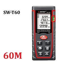 60M LCD Digital Laser Distance Meter Rangefinder Measure Diastimeter