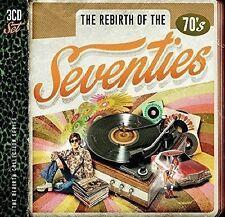 REBIRTH OF THE SEVENTIES 3 CD NEU