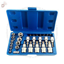 Male Female Torx Star Socket & Bit Set/ 29pcs E & T Sockets with Torx Bits UKDC
