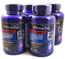 4X Joint Soother 90 Caps Triple Strength Glucosamine Chondroitin MSM Joint Pain