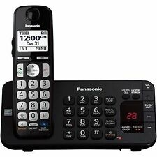 Panasonic KX-TGE240B DECT 6.0 1-HANDSET Landline Telephone 3R Home Office