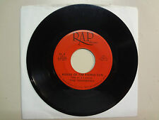 "HERDSMEN:House Of The Rising Sun 3:40-Fed Up 2:20-U.S. 7"" 6- 1967 RAP Records"