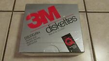 "3M Floppy Diskettes Disks -  DD DD RH 5 1/4"" Disks - Lot of 10 - New - Sealed"