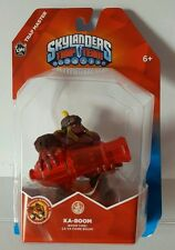 Brand New Skylanders Trap Team KA-BOOM figure + card & sticker - new in box!