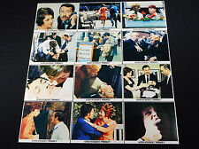 FRENZY 1972 * ALFRED HITCHCOCK * MINI LOBBY SET OF 12 WITH RARE HITCHCOCK CARD!!