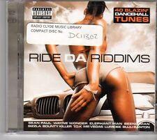 (EU538) Ride Da Riddims, 40 tracks various artists - 2CDS - 2003 CD