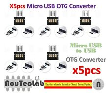 5pcs Mini USB 2.0 Micro USB OTG Converter Adapter for PC Tablet Android