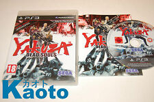 YAKUZA DEAD SOULS PLAYSTATION 3 COMPLETO PAL UK COMPLETE PS3