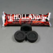 40mm Holland Charcoal/ Incense Burning Disks/ Quick Lighting 10 Disk Pack
