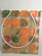 DELICIOUS CLEAR PRINT CARRY BAG - FIRST CLASS POSTAGE