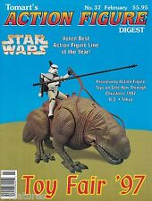 TOMART'S ACTION FIGURE DIGEST #37 - TOY FAIR '97 Action Figure Preview STAR WARS