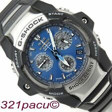 G Shock GS-100-2A Blue Dial Giez Radio Atomic Control Chronograph Tough Solar