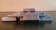 10KGS SCRAP LEAD INGOTS.FISHING WEIGHTS/BALLAST/MODELS