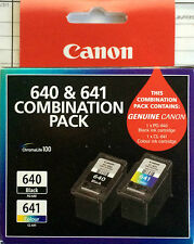 CANON 640 & 641 COMBINATION PACK  PG-640 -  CL-641 INK CARTRIDGES