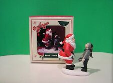 """DEPT 56  - """"A Christmas Story"""" - HIGBEE'S SANTA sculpture - NEW in BOX"""
