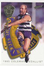 1996 Select Medal card Gary Ablett  Geelong Cats Col;eman Medallist