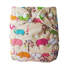 1 Alva BABY Re-Usable Washable CLOTH DIAPER Pocket NAPPY 1 Microfiber INSERT J18