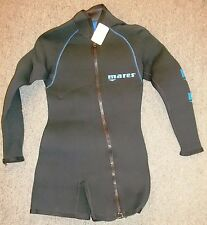 MARES 6.5mm Mens S Small Front-Zip Shorty Wet Suit Dive SCUBA SURF New w/ Tags