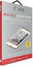 ZAGG iPhone 6s & 6 InvisibleShield Tempered Glass Luxe HD Screen Protector Gold