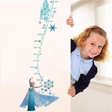 New Frozen Height Chart Wall Sticker Decals Mural Kid Nursery Room Vinyl Decor