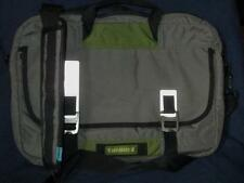 TIMBUK2 Laptop Messenger Bag  Gray w/Green NICE