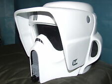STAR WARS FIBREGLASS BIKER SCOUT HELMET FULL SIZE 1-1 SCALE