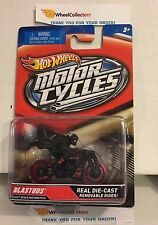 Blastous Black * MOTORCYCLES Hot Wheels * M4