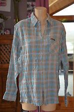 MARLBORO CLASSICS Très jolie chemise bleu à carreaux  - T XL - EXCELLENT ÉTAT