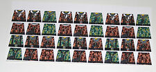 Custom 36 stickers german soldiers  WW2 GERMAN CAMOUFLAGE - SIZE - lego torso
