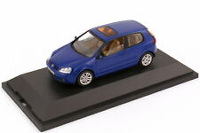 1:43 VW Golf V 5 2türig dunkelblau blau blue - Volkswagen-Dealer-Edition - OEM