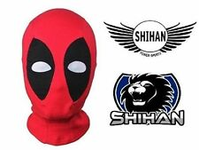 Shihan ALIEN Red Face Mask Hood Fancy Up Halloween Costume Cosplay Mask  Senior