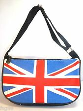 NEW Union Jack England UK British Flag Handbag Purses Make Up Cosmetic bag