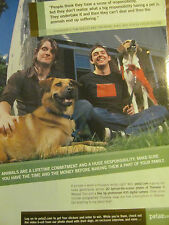 Thursday, PETA,  Full Page Promotional Ad