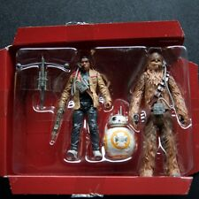 "Star Wars The Force Awakens Finn Chewbacca BB-8 Pilots 3 3/4"" Action Figures TFA"