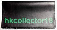 Vinyl Cover for Bank Account Transaction Register Checking CheckBook - Black