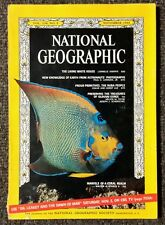 National Geographic magazine November 1966 White House, Earth from Orbit, Nuba