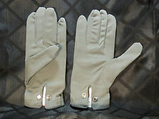 Swarovski Cloth Gloves with Crystal Button - Brand New