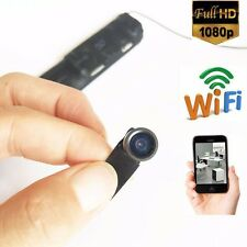 DIY 140 degree 1080P Full HD WIFI wireless IP mini camera hidden spy camera DVR