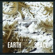 Liberia 2015 MNH Visions Earth from Space 1v S/S Mount Everest Himalayas Stamps